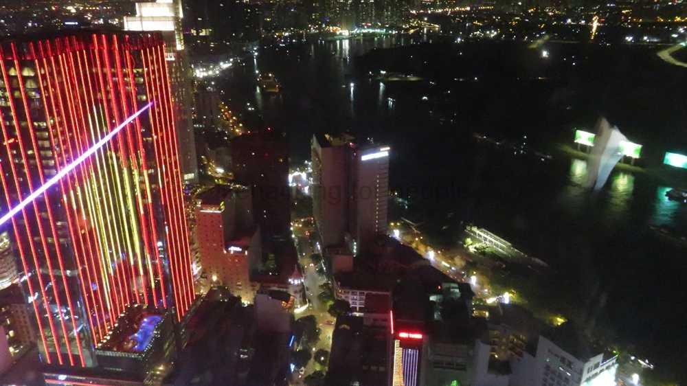 Bitexco Financial Tower(ビテクスコ・フィナンシャルタワー)通称サイゴン・スカイデッキに行ってきました。