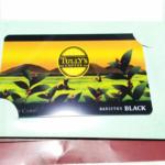 タリーズコーヒーの「TULLY'S CARD」が送られてきた