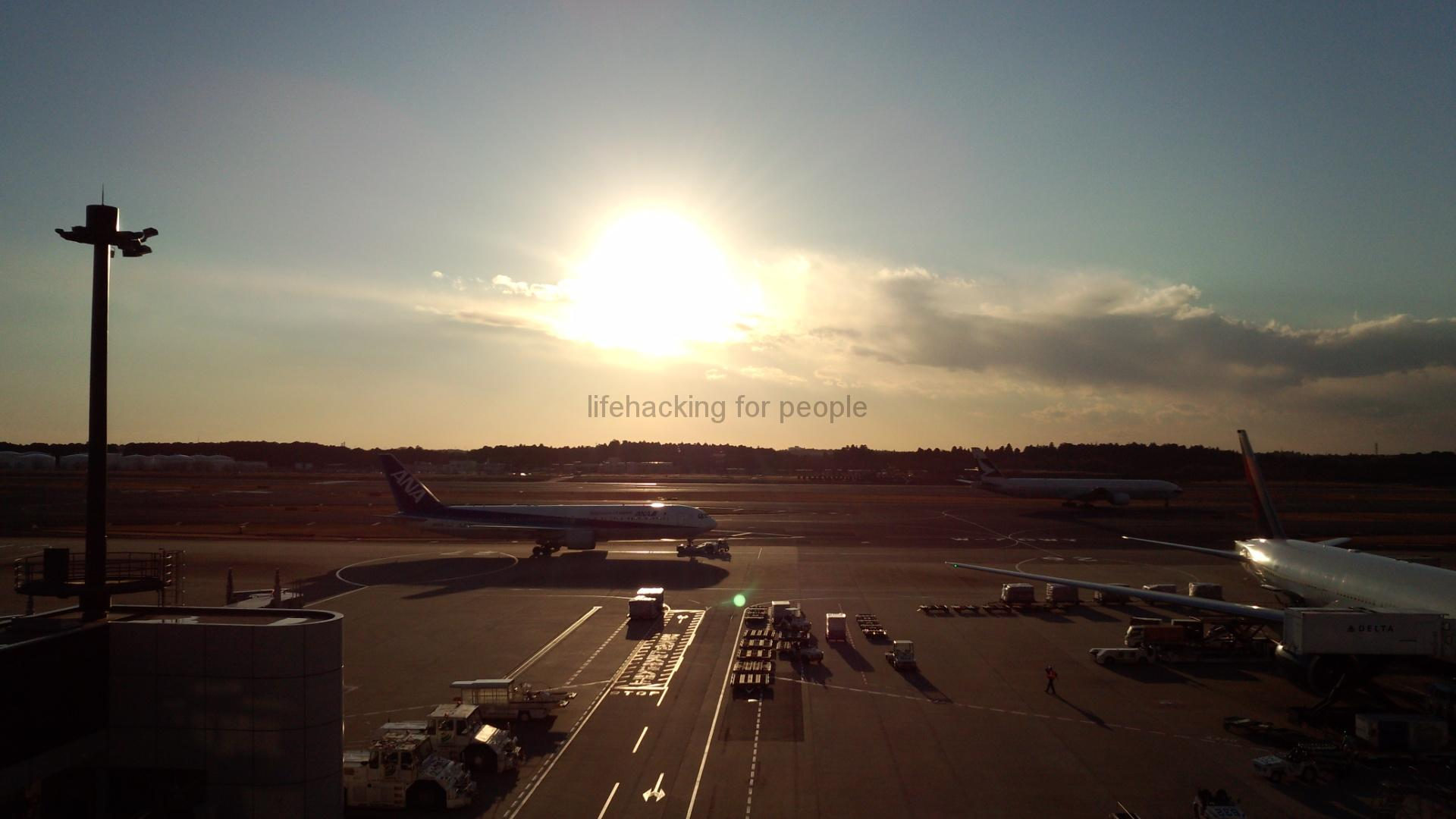 今まで撮影した夕陽【成田空港Part.2】
